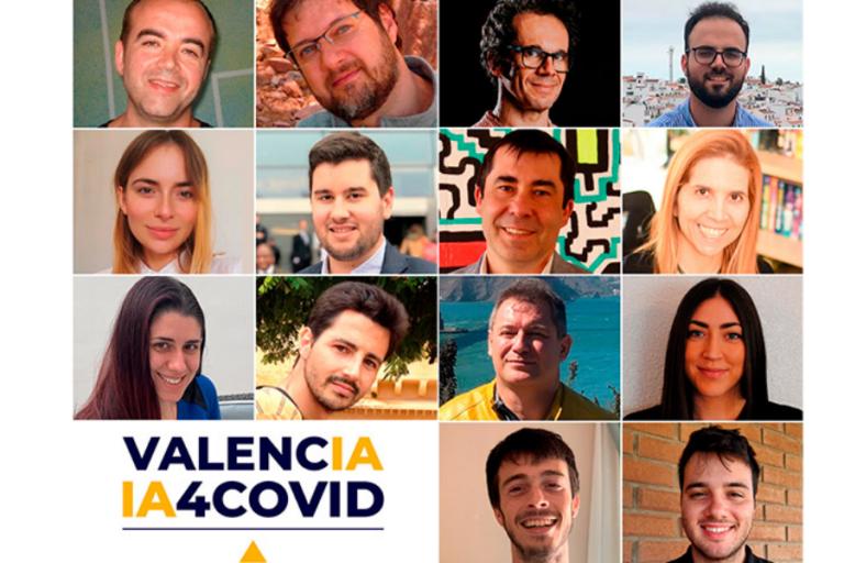 El equipo Valencia IA4COVID primer puesto en la final 500K Pandemic Response Challenge.
